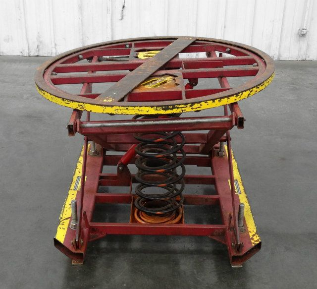 Used Southworth Palletpal 42 Quot Diameter Rotating Loader