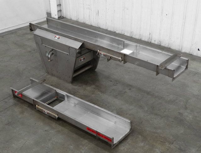 Allen FMC Cross Feeder Slide Conveyor 18