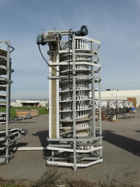 Span Tech MultiSpan Spiral Conveyor