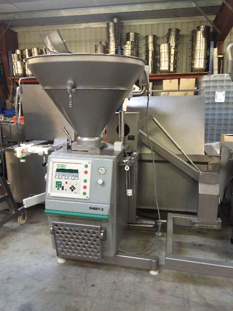 Vemag Robby-2 Vacuum Filler with Rotary Vane Pump