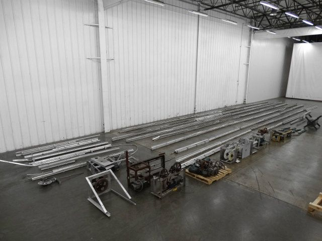 500 Feet Long x 2 Inch Wide Cable Conveyor