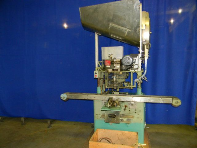 Resina S-30 Screw Capper with Air Chuck Upgrade