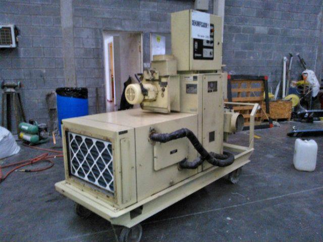 Used Munters Cargocaire Hcd 600 Ea Dehumidifier