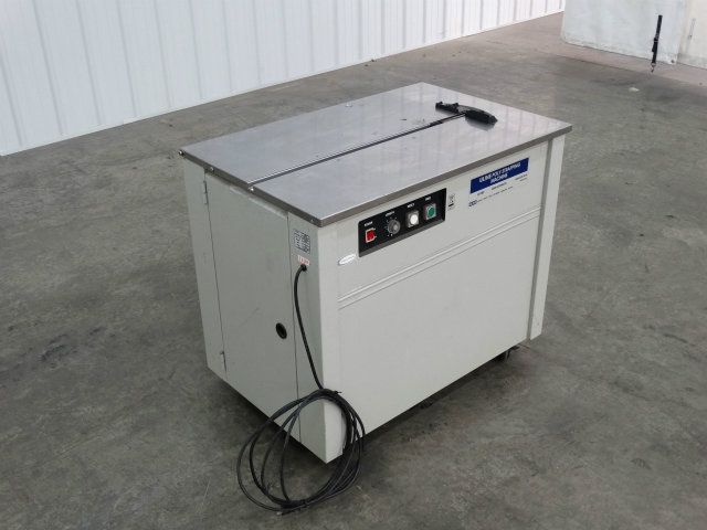semi automatic poly strapping machine