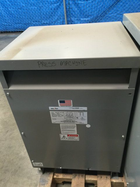 Used Federal Pacific 36B Dry Type Transformer
