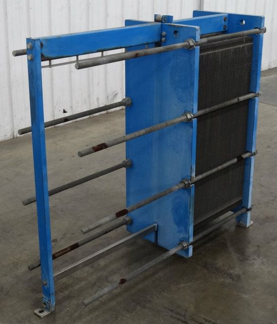 Used Graham Gpe 51 Plate And Frame Heat Exchanger