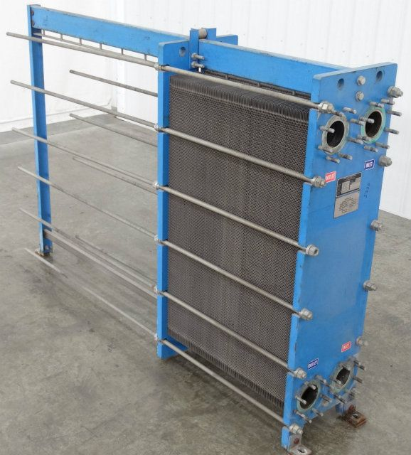 Used Gpe 51 Graham Gpe 42 Plate And Frame Heat Exchanger