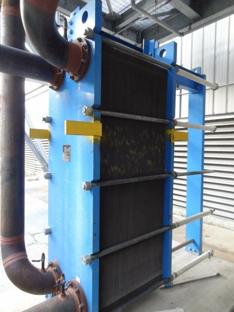 Used Gpe 51 Graham Gpe 140 Plate And Frame Heat Exchanger