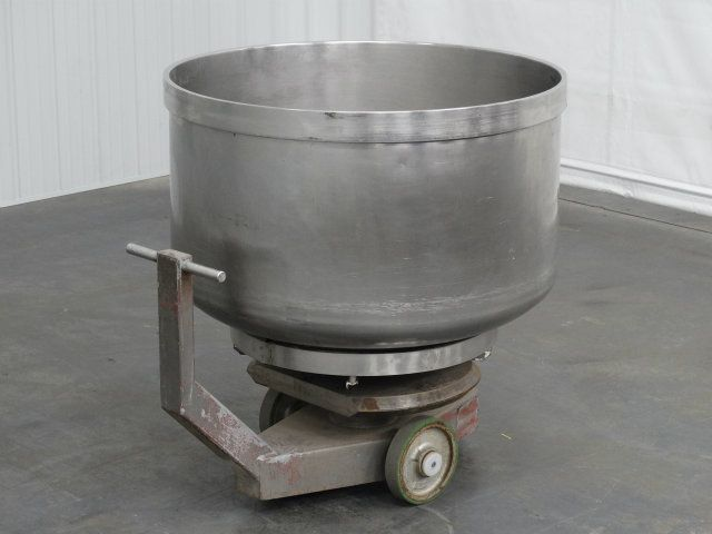 VMI Rotating Stainless Steel Mixing Bowl and Dolly