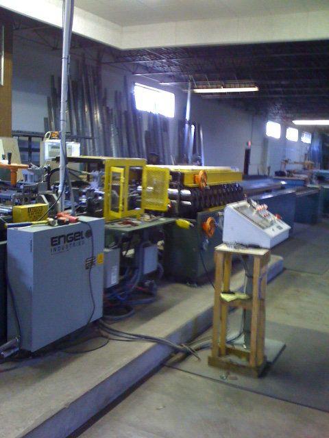 Used Engel Industries M 200 Fsa X Metal Framing System