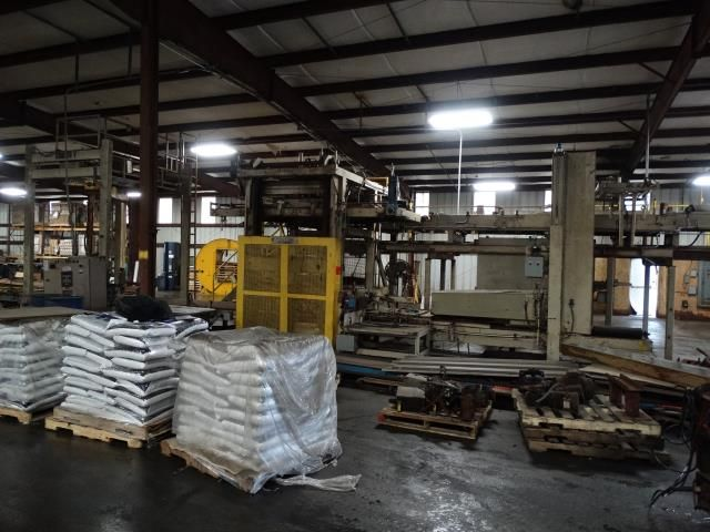 Used Pls Split Plate Palletizing System Mollers Pls High