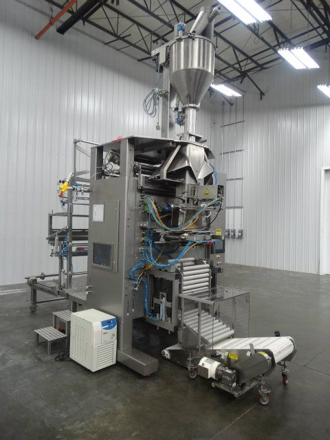 Rovema VPX480 Large Capacity Auger Filler VFFS