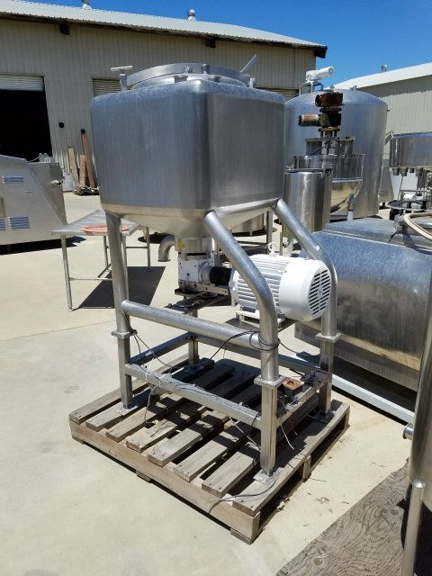 APV 50 Gallon Single Shell Liquefier