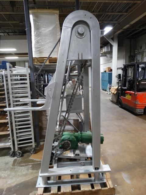 Delta Industrial 1800 Pound Trough LiftDump