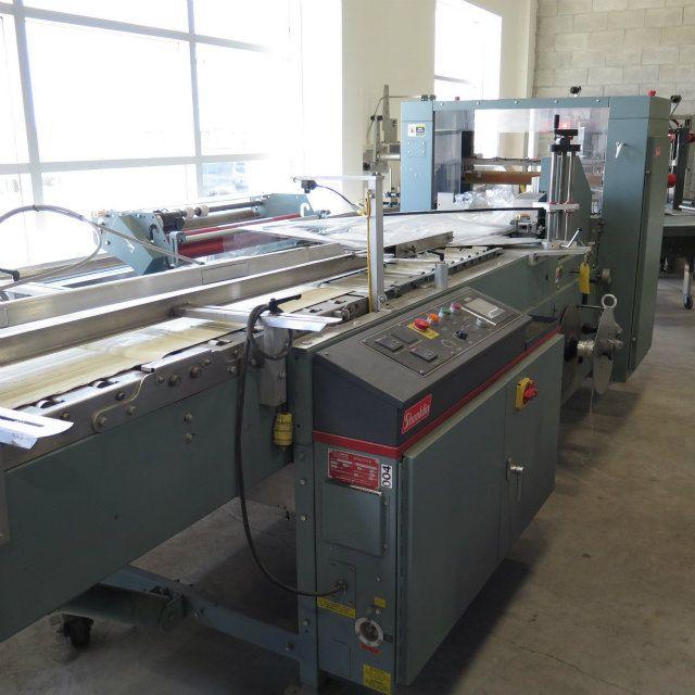 used shanklin flowrap f 7 form fill seal wrapper rh sigmaequipment com Shanklin Distributors Shanklin Distributors