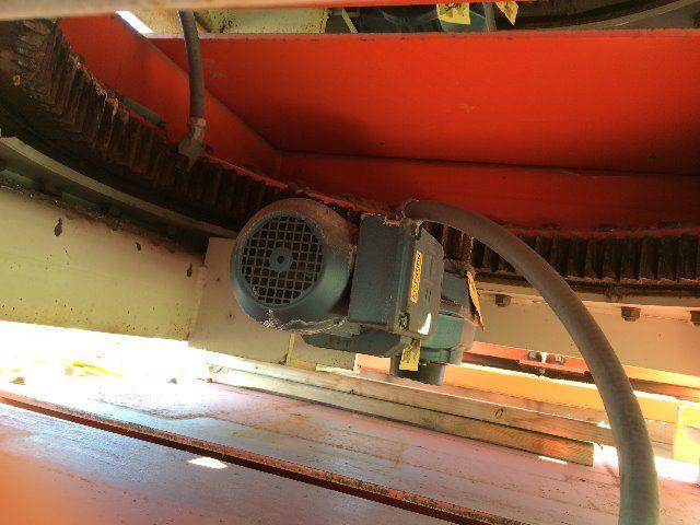 Used rotating pallet platform for Large motorized rotating platform