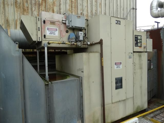 Used Munters Cargocaire Hcd 9000 Dgba Sb Dehumidifer