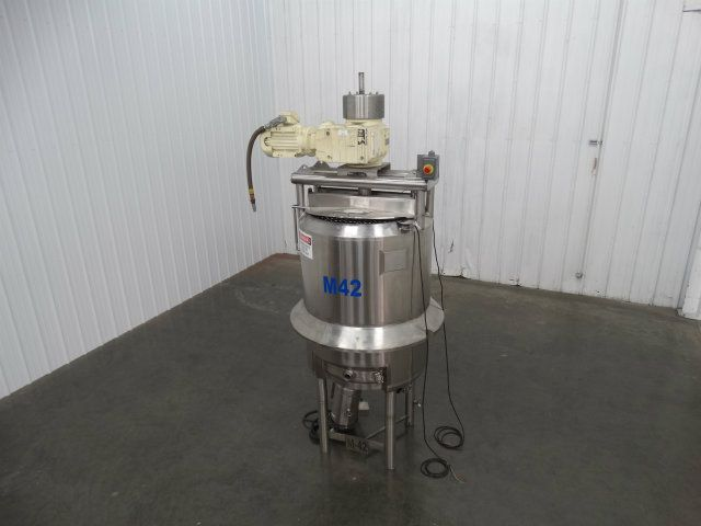 Feldmeier 150 Gal Triple Action Jacketed Mix Tank