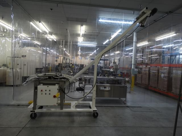 AMS Filling Systems Flexible Screw Feeder Conveyor