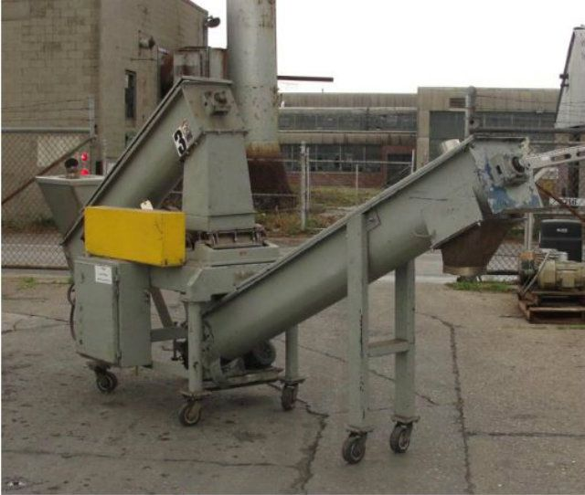 Fitzmill Model D Carbon Steel Comminutor Mill