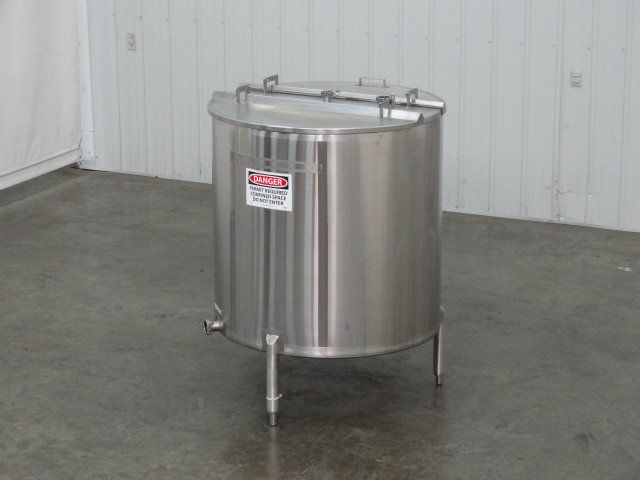 280 Gallon Stainless Steel Single Wall Tank