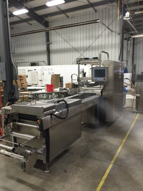 used r 245 multivac r245 thermoform packaging machine