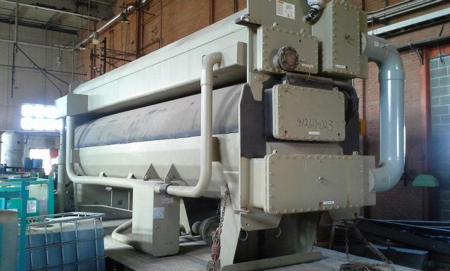 Used Absd700 Trane Single Stage Absorption Liquid Chiller