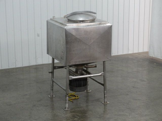 Breddo 200 Gallon SS Jacketed Likwifier Blender