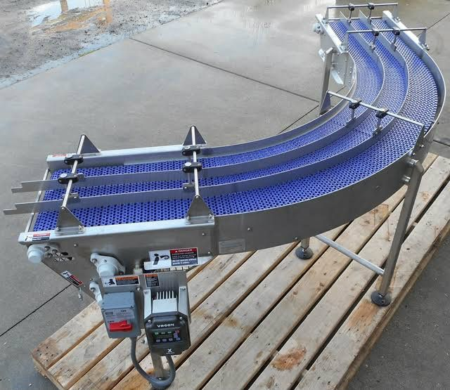 Coastline 90° Infeed Conveyor