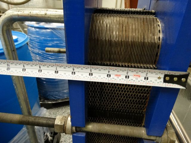 Used M6 Fg Alfa Laval M6 Plate And Frame Heat Exchanger