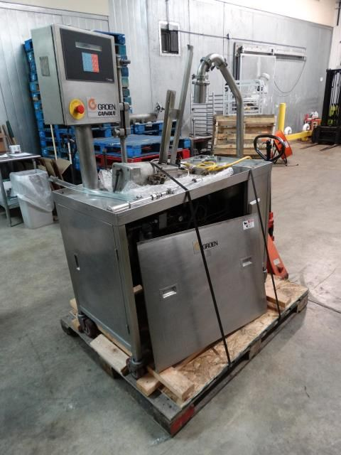 Groen Capkold Cook-Chill Mobile Fill Station