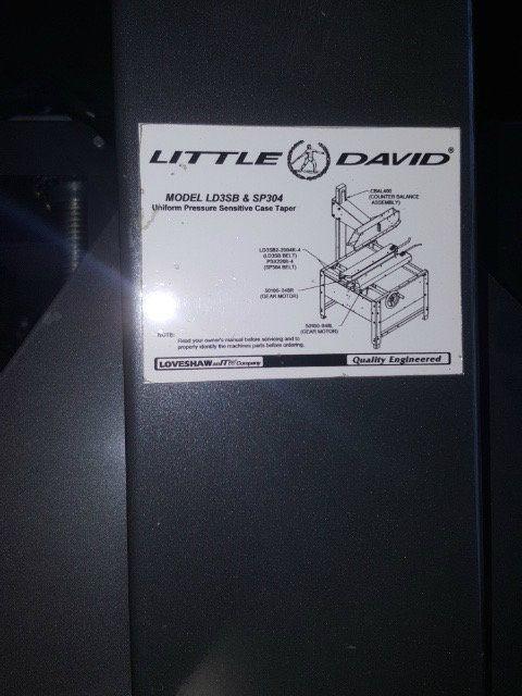 Used Loveshaw Little David Ld3sb Case Taper