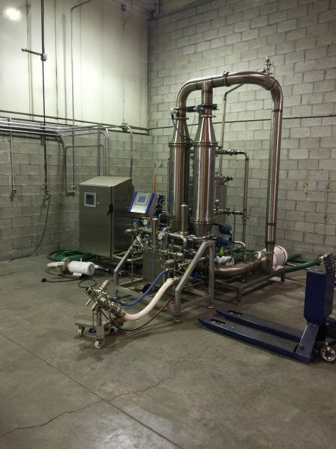 GEA Microfiltration System Aseptic Filler