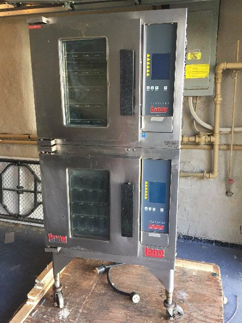 Lang EHS-PT Double Stack Convection Oven