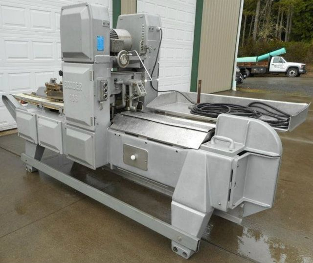 Used baader 189 white fish fillet machine for Fish fillet machine