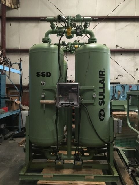 Air Dryer For Air Compressor >> Used SSD-1750-220V-PSP Sullair SSD-1750 Desiccant Dryer