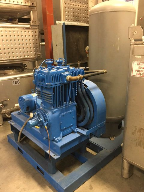 Colt Industries Quincy 390 Air Compressor