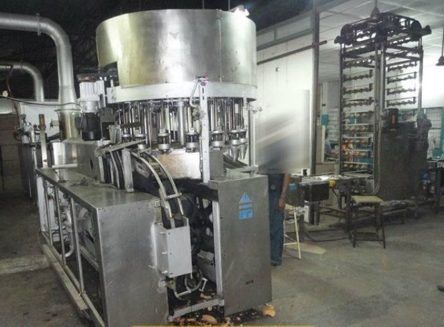 Haas Rolled Wafer Cone Gas Oven