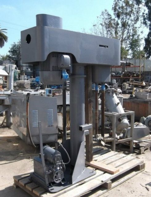 40 HP Dual Shaft Dispersion Mixer