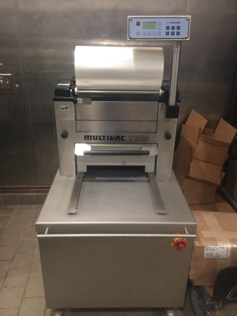 Multivac T200 Tray Sealer