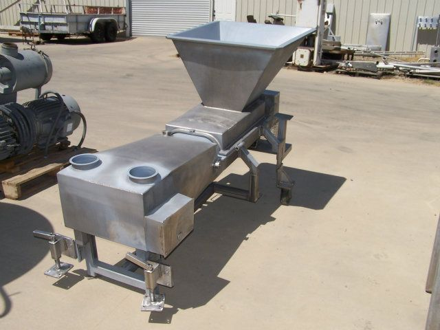 Used Stainless Steel Fabricators Co 700 Extruder