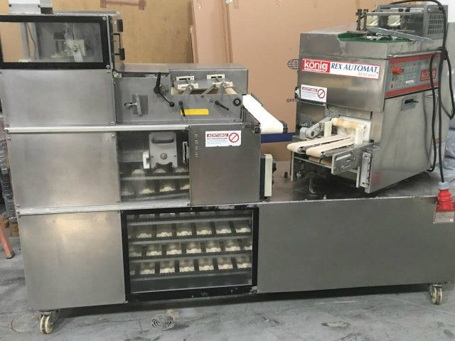 Konig MRex 4000 Divider Rounder and G2000 Proofer