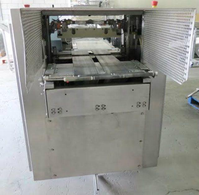 used f 5ahss t 7hss shanklin f5ahss side sealer and t7hss heat tunnel rh sigmaequipment com