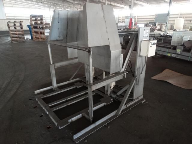 Automatic Industrial Machines Hydraulic Bin Lift