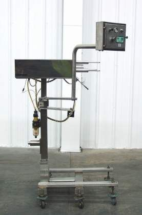 All-Fill Model 585 Pump with Mobile Stand