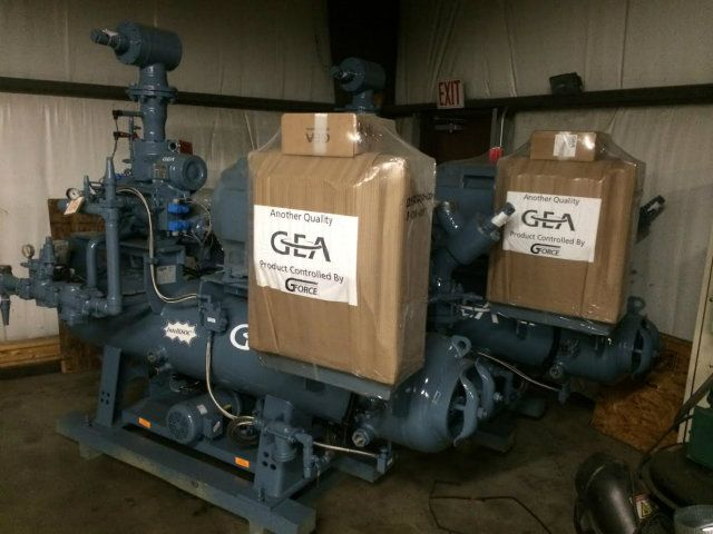 GEA 110GM Medium Series 200HP Screw Compressor