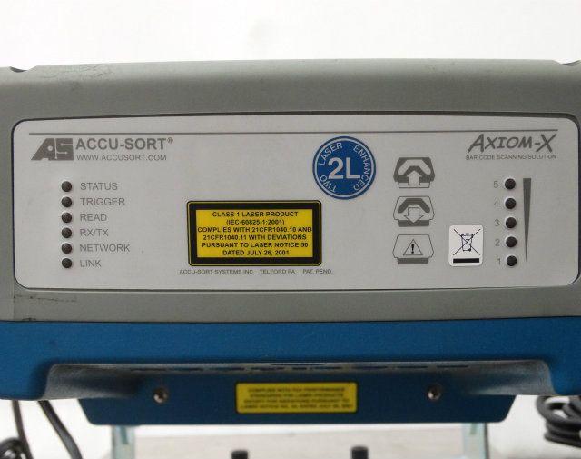Used Accu-Sort Axiom-X Omni-Directional Bar Code Reader