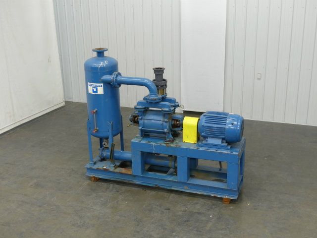 Sterling Sihi 40 HP Double Diaphragm Vacuum Pump