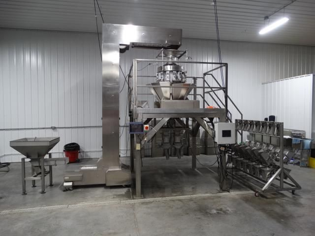 Ohlson MHW-CCW14-SS 14 Head Combination Weigher