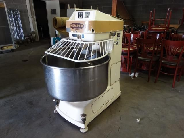 Kemper Bakery ST75 Two Speed Spiral Mixer